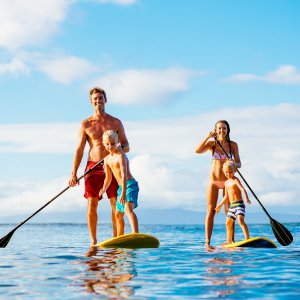 family-paddle
